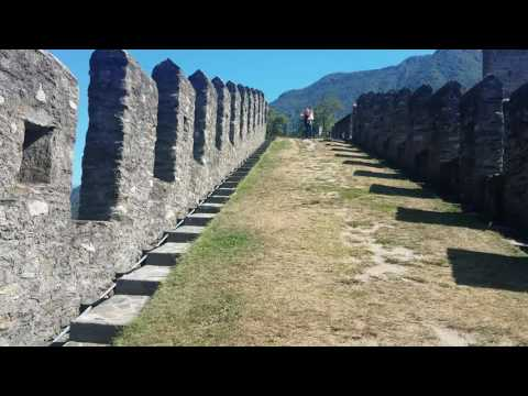 Switzerland - Bellinzona castle 1200 AD