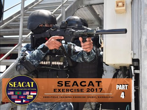 SEACAT Exercise 2017- Field Training Exercise in Subic, Zambales