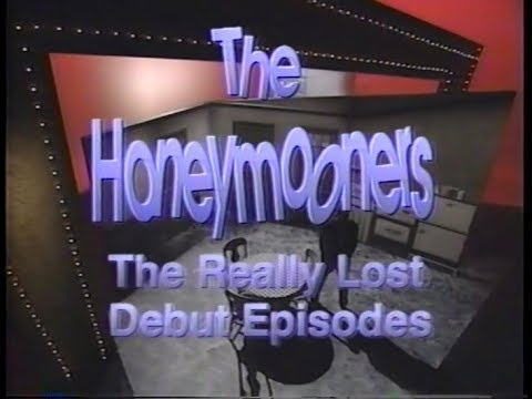 """The Honeymooners """"The REALLY Lost Debut Episodes"""""""
