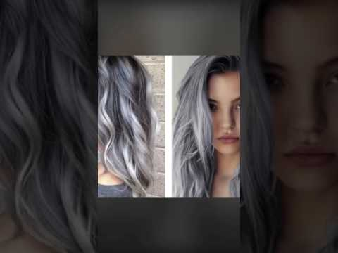 Blonde and grey hair styles