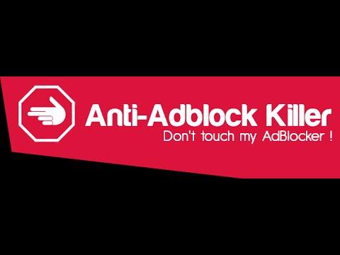 Anti Adblock Killer : Setup