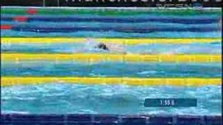 Kirsty Coventry get 4th Gold Medal and 3rd World Record