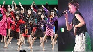 荻野目洋子と大阪・登美丘高が「うたコン」で初共演