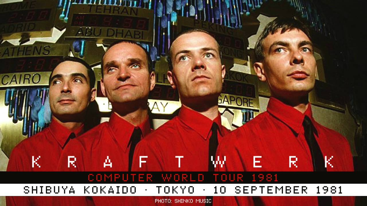 Kraftwerk - Shibuya Kokaido, Tokyo, 1981-09-10 - YouTubeKraftwerk