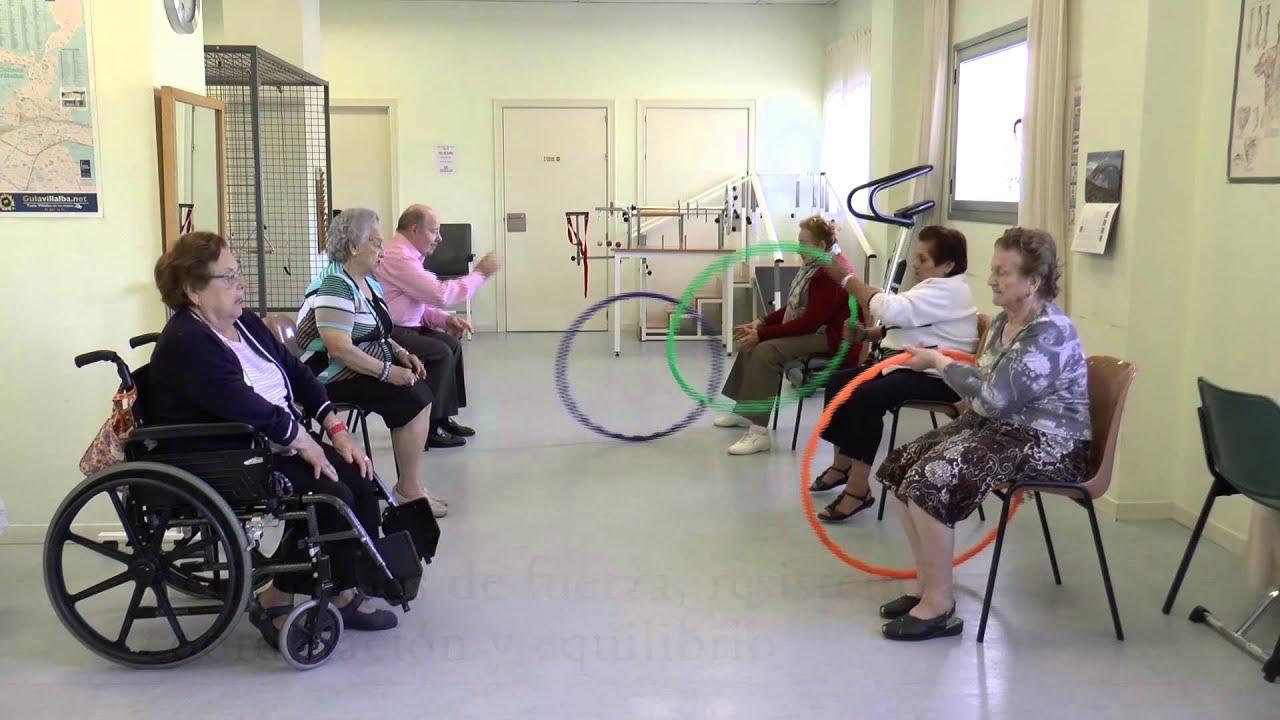 Ejercicios diarios para personas mayores youtube for Sillon alto para personas mayores