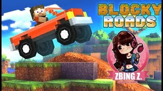 Blocky Roads เล่นเสียงอินโทรของพี่แป้ง ( zbing z. )