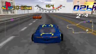 San Francisco Rush: Extreme Racing (PS1 Gameplay)