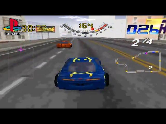 San Francisco Rush: Extreme Racing (PS1 Gameplay)