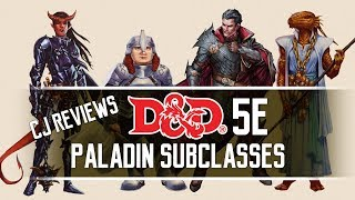 Conquest, Redemption, Crown & Oathbreaker Dungeons and Dragons 5e Paladin Subclass Review