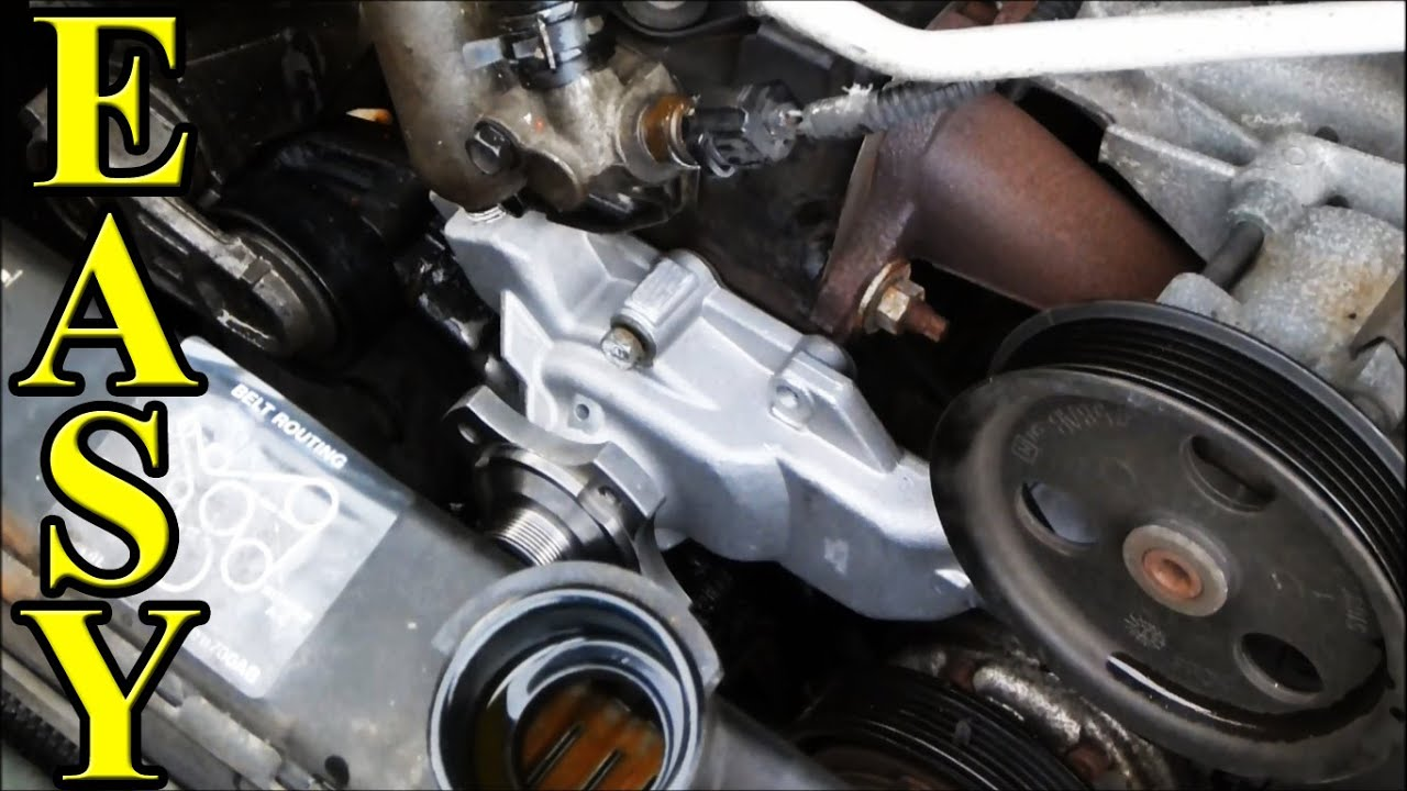 How to Change a Waterpump in a Jeep YouTube – Jeep Cherokee Straight 6 Engine Diagram