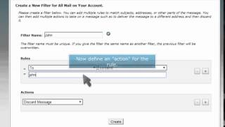 How to setup email filters in cPanel