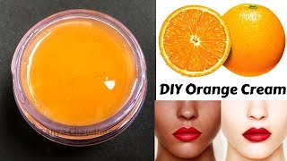 DIY Vitamin C / Orange Cream | Skin Whitening & Anti-Aging Cream | Lighten Dark Spots & Blemishes