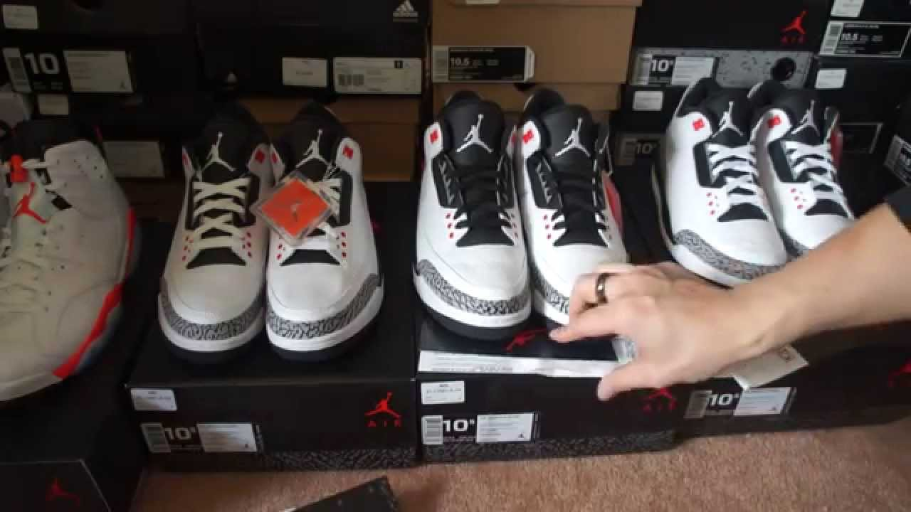 casual shoes cheap for discount thoughts on Air Jordan 3 Retro Infrared Review & Lace Swap @champssports @footlocker  @Footaction