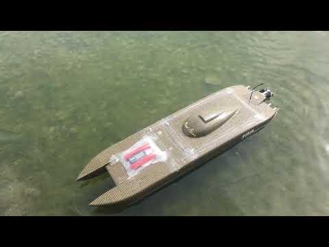 Oxidean marine,animal cat, twin cat ,fast rc boat, 109mph