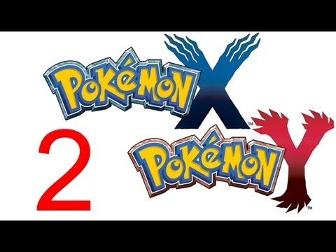 Pokemon X And Y Walkthrough Part 2 The Old Starters Gameplay Let's Play 3DS HD Pokemon X And Y