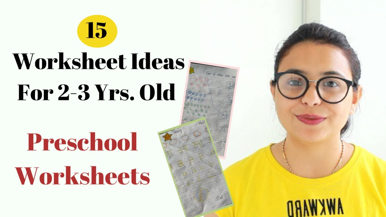 15 DIY Daily Practice Worksheets for 2 \u0026 3 Year Old (Toddler [ 720 x 1280 Pixel ]
