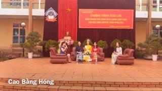 Gambar cover Hoa hậu Lương Thuỳ Linh về thăm trường cũ - Cùng mẹ giao lưu với thầy cô và các em học sinh