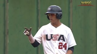 Highlights: Brazil v USA - U-18 Baseball World Cup 2015