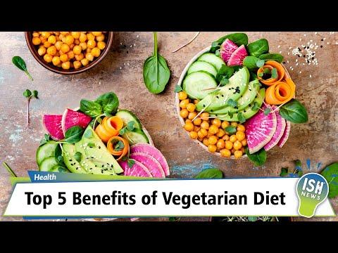 Top 5 Benefits of Vegetarian Diet