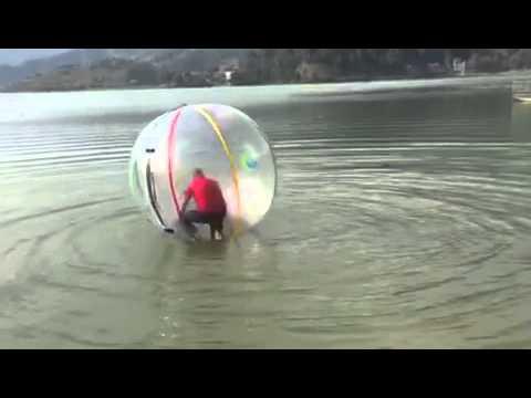 Water Waking Ball पॊखरा NEPAL