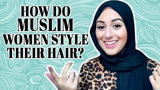 How do Muslim women STYLE their hair? #shorts