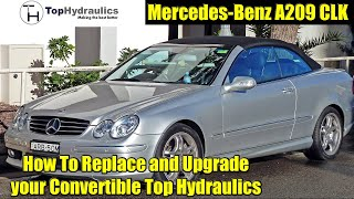 Rebuild Service for your full set of Mercedes W209 CLK Top Hydraulic Cylinders