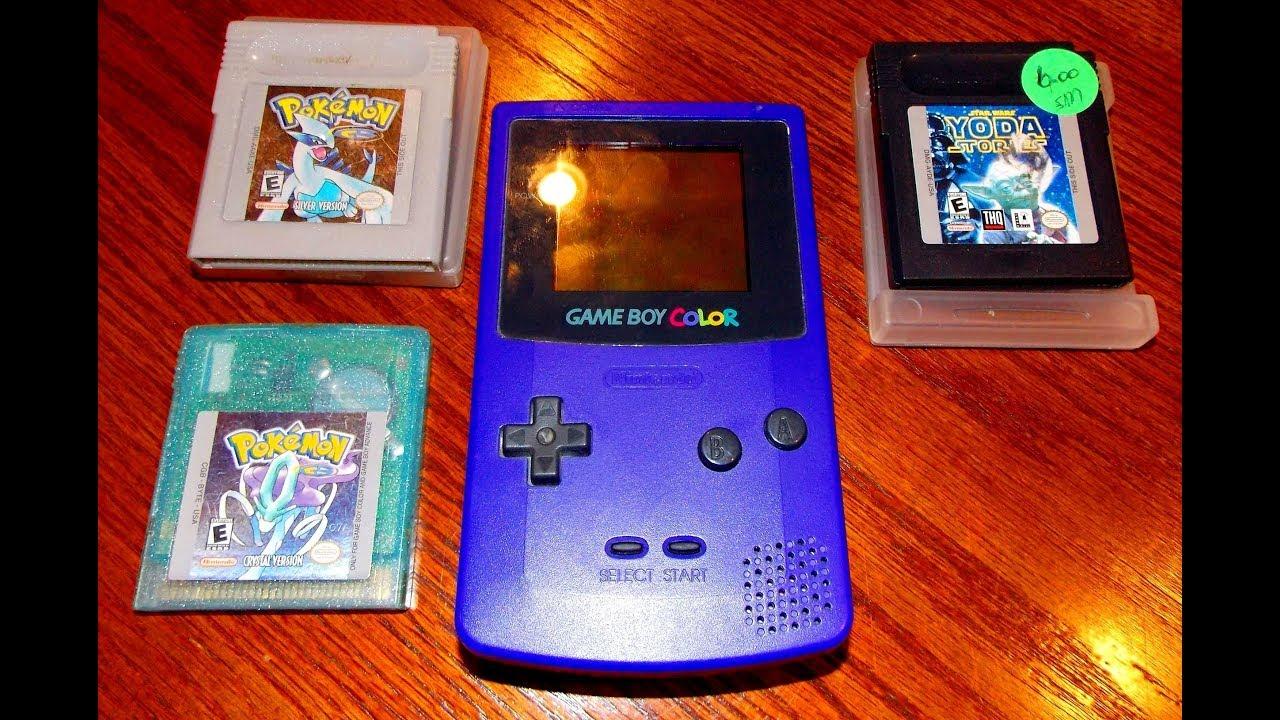 Pokemon games for gameboy color - Pokemon Garage Sale Gameboy Color And Games