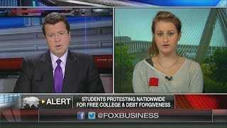 CRINGE: Girl Implodes Explaining How to Pay for Free College