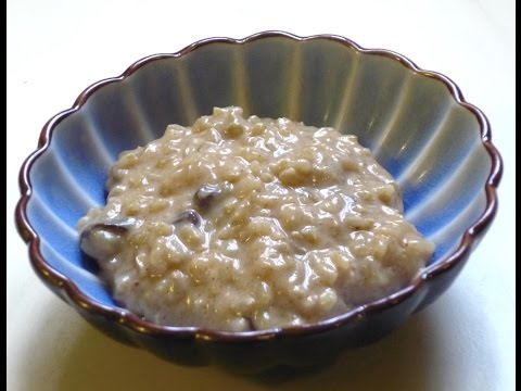Soya Milk Brown Rice Pudding - Sanjeev Kapoor - Quick Chef