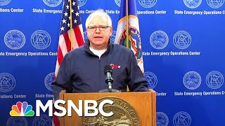 Gov. Walz Calls For Full Mobilization of Minnesota's National Guard | MSNBC