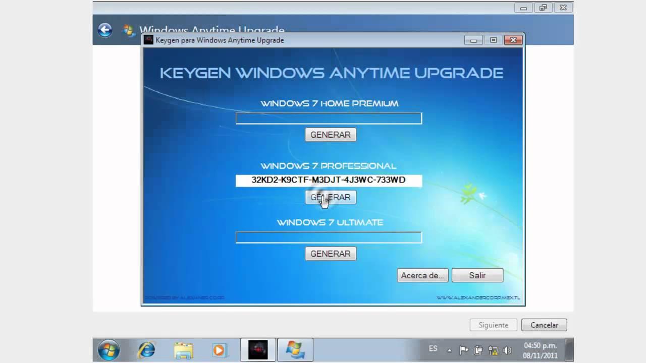 windows 7 crack version