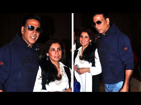Akshay Kumar And Dimple Kapadia Launch Marathi Trailer Kaul Manacha
