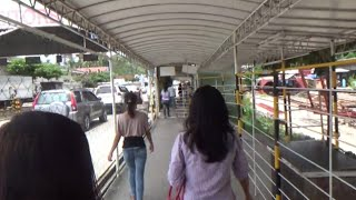 Going to Samal Island at ferry terminal. Davao,Philippines