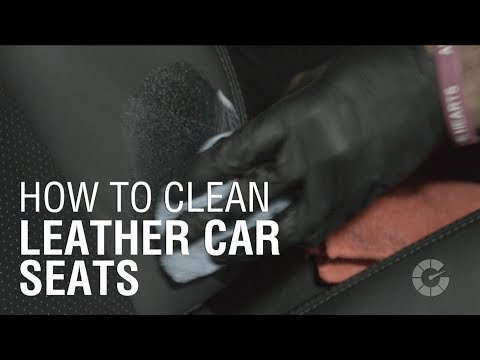 How to Clean Leather Seats   Autoblog Details