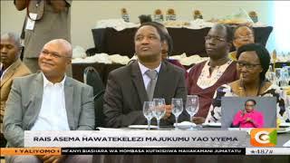 Rais Uhuru awasuta Kiunjuri, Munya na Monica