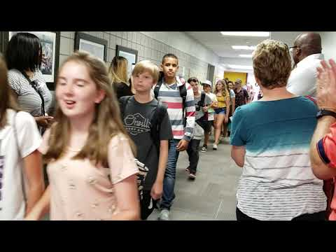 "6th Grade ""Clap Out"" - Final Day at Canyon Rim Elementary School"