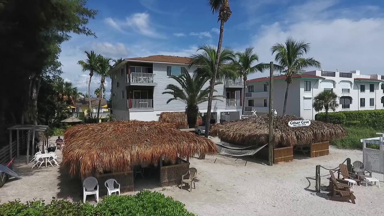 cedar cove resort anna maria island  florida youtube