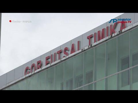 Melihat Kemegahan GOR Futsal di Mimika Jelang PON XX
