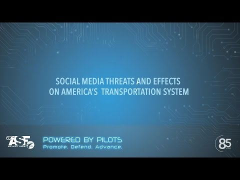 SOCIAL MEDIA THREATS AND EFFECTS ON AMERICA'S TRANSPORTATION SYSTEM