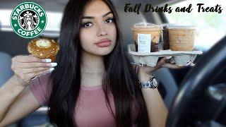 I Tried Starbucks New Fall Drinks and Treats!