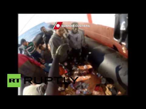 Italy: Coast guard picks up 99 migrants off Libyan coast