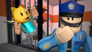 Can I BREAK OUT OF PRISON AGAIN!? ROBLOX Escape Prison Obby!