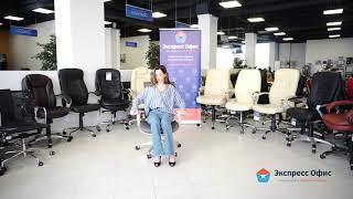 Обзор функционального эргономичного кресла серии Expert Star Gr из сетки серого цвета