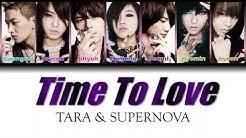 T-ARA & SUPERNOVA - TIME TO LOVE (Color Coded Lyrics / Eng Sub)