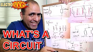 What's a Circuit, Series and Parallel (ElectroBOOM101-005)