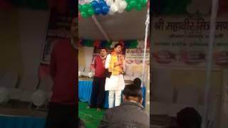 2016 Kairana panchkalyanak night program may Cho.nahid Hasan sambodit karte hue.