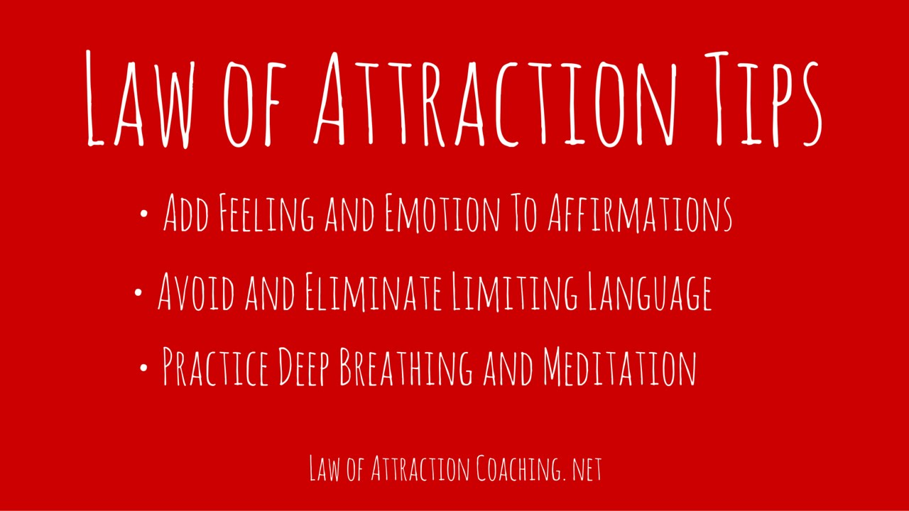 How to Attract Men Laws of Attraction