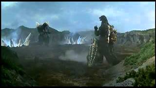 Godzilla vs SpaceGodzilla First Fight