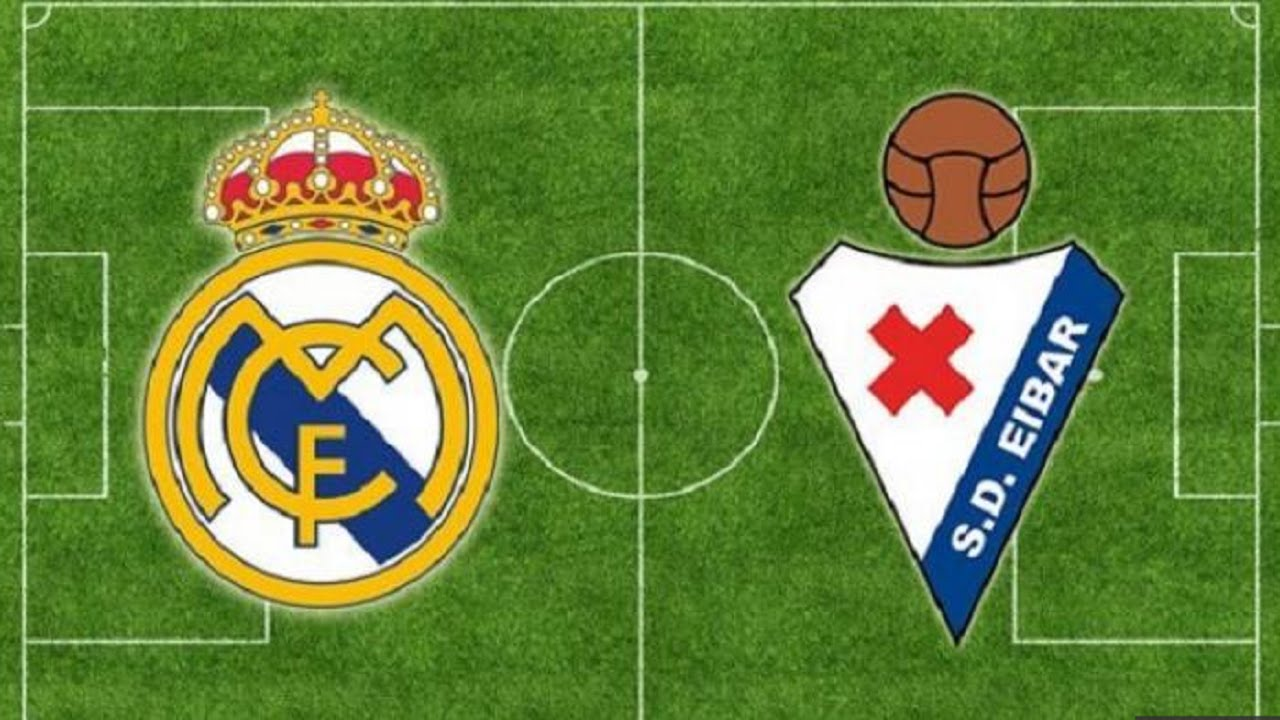 Liga Spanyol Eibar Vs Real Madrid