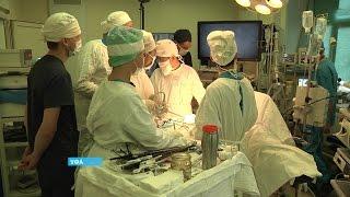 Впервые в Уфе злокачественную опухоль поджелудочной железы удалили без скальпеля